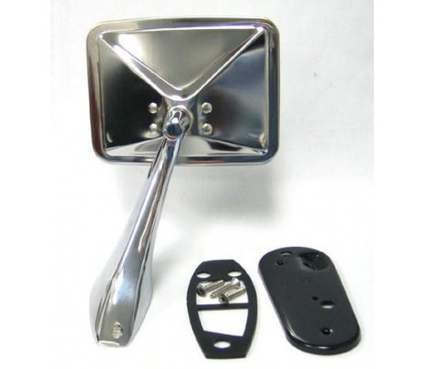 1970-1972 Chrome Mirror Assembly (includes mounting hardware) RH - Classic Muscle (1595R)