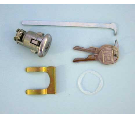 1968-1972 Non-GM Key Kit (spring/shaft/bracket/gasket) - Classic Muscle (1575-CL)