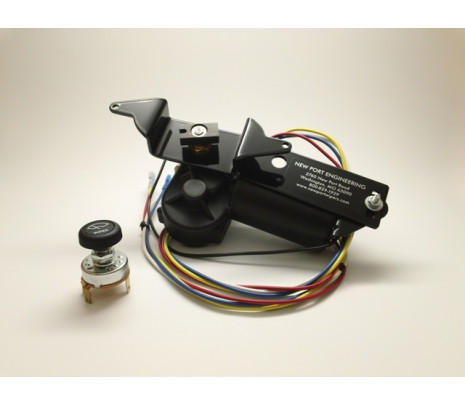 1955-57 Wiper Motor Kit 2 Speed Complete,57 Must Mount Switch Under Dash - Classic Muscle (17508WM)