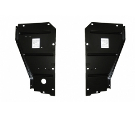 1957 Belair/150/210 Radiator Support Side Filler Panels (pair) RH/LH no wire holes - Classic Muscle (1357P)