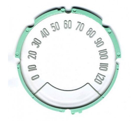 1957 Fuel Gauge Face Lens MADE IN USA - Classic Muscle (1584735)