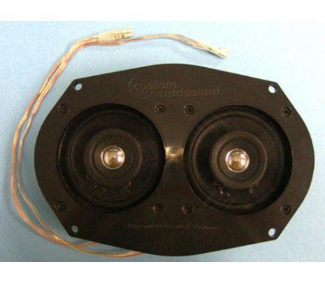 1970-1977 Dual 30 Watt Speaker Assembly (replaces mono speaker) - Classic Muscle (1006-106)