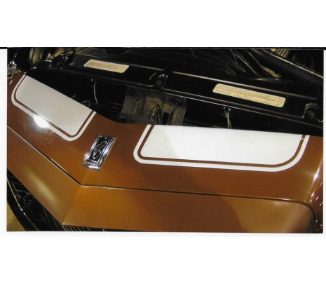 1970-1973 Camaro Z28 with 3 piece Rear Spoiler Stencil Kit (exc. RS) - Classic Muscle (1051347-A)