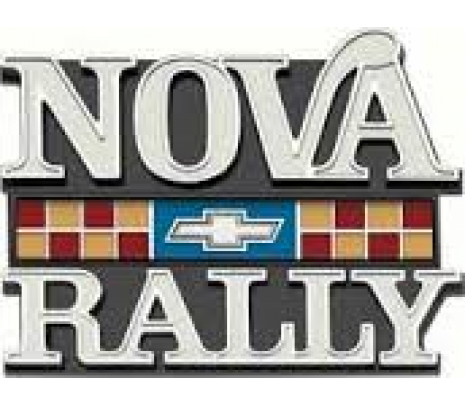 "1977-79 ""Nova Rally"" Fender Emblem - Classic Muscle (372939)"