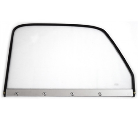 1947-50 P/U RH Clear Door Glass w/black frame - Classic Muscle (846914)