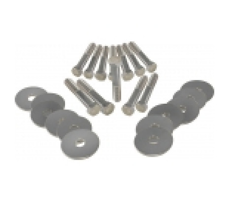 1964-1965 Chevelle Body Mount Bolt Kit Correct H/T - Classic Muscle (270670)
