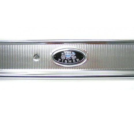 1965- 1970 Impala RH Door Sill Plate (Body by Fisher) - Classic Muscle (1379R)