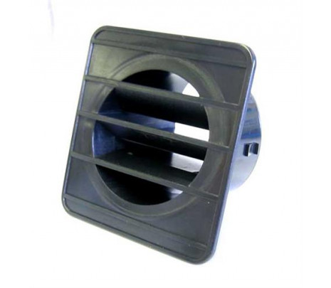 1967-1972 Defrost Outlet (black) LH - Classic Muscle (1177R)