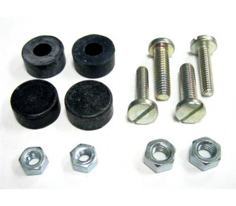 1955-1956 Front & Rear Adjuster Bolts,Nuts & Bumpers - Classic Muscle (12988-128)