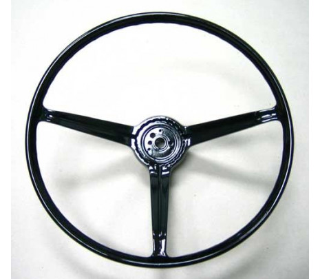1967-1968 Standard Wheel (black) - Classic Muscle (9745977)