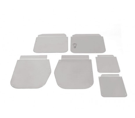 1955-57 Belair Conv. Door And Side Window Access Hole Covers (6 pcs) - Classic Muscle (9884-C)