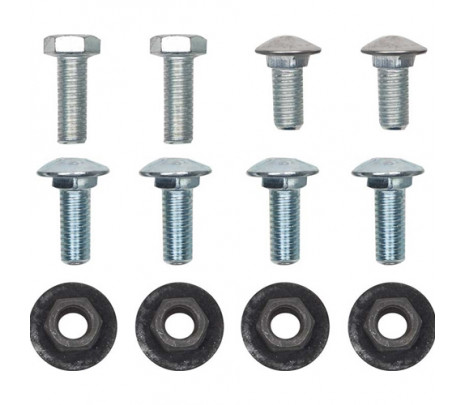 1967 Camaro Front Bumper Bolt Kit,Bumper to Bracket [12pcs] - Classic Muscle (270540)