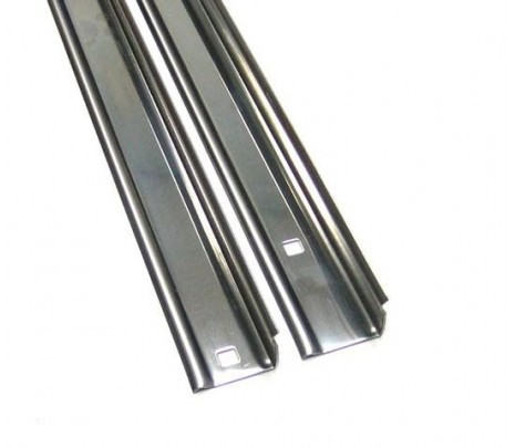 1960-1962 C10 Stepside Longbed Bed Angle Strips Steel (pair) OVERSIZE ITEM - Classic Muscle (110150-M)