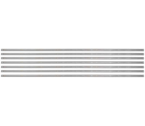 1954-1955 Stepside Longbed Bed Strips Stainless Unpolished [7 pieces] OVERSIZE ITEM - Classic Muscle (110044-M)