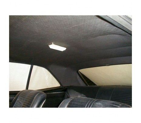 1967-69 Camaro Headliner Black Perforated - Classic Muscle (67FH100B)