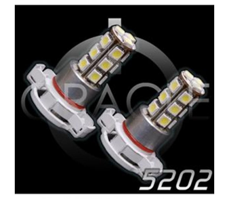 2010-2013 5202 SMD DRL/FOG LED Bulb - Classic Muscle (RP5078)