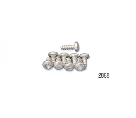 1957 BELAIR HTR MOTOR MOUNTING SCREW SET CLUTCH HEAD - Classic Muscle (2888MS)