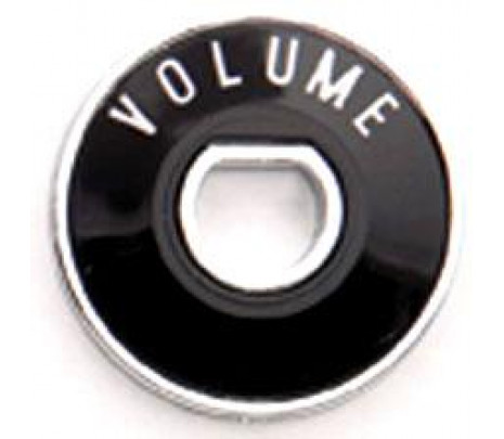 1955-1956 Volume Dial/Bezel with Chrome Back Plate MADE IN USA - Classic Muscle (1076-T)