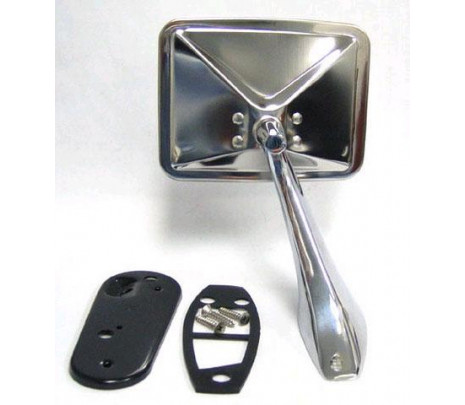 1970-1972 Chrome Mirror Assembly (includes mounting hardware) LH - Classic Muscle (1594R)