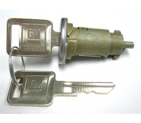 1966-1967 Chevelle/Impala Ignition Lock Cyl, Later Key - Classic Muscle (100-CL)