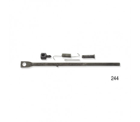 1955-1957 Belair/150/210 Clutch Rod Assembly, Rod,Swivel,Spring, Pin - Classic Muscle (RP1332)