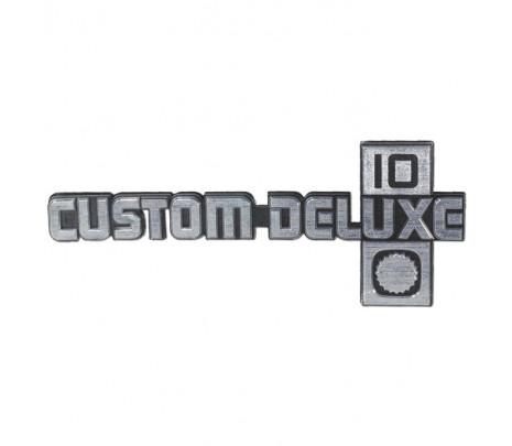 1981-87 C10 Custom Deluxe 10 Fender Emblems w/hdwr (Pair) - Classic Muscle (16721CD)