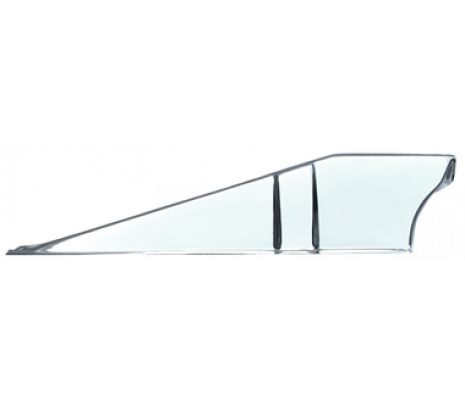 1960-1966 Chevy/GMC Pickup,Chrome rear support, upper tie bar baffle, Passenger side - Classic Muscle (848048)