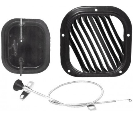 1955-1956 Vent Valve, Grille & Cable Kit - RH - Classic Muscle (181416K)