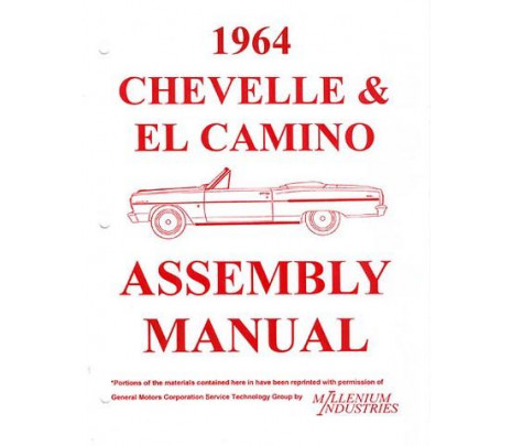 1961 Passenger Assembly Manual - Classic Muscle (3777100)