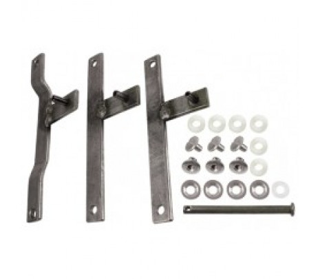 1970-72 Chevelle Htr/AC Lever Kit W/Hdwr - Classic Muscle (170219)