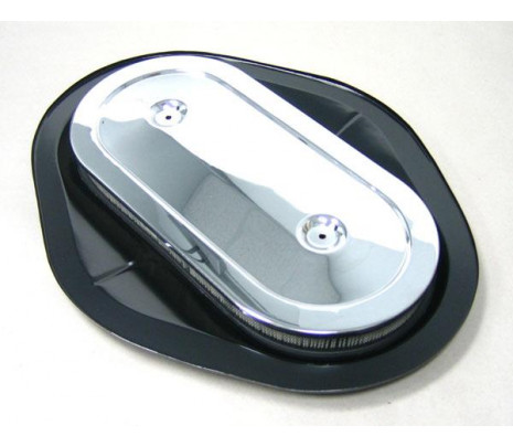 1968-1969 2x4 Crossram Air Cleaner Assembly (wide base) - Classic Muscle (3941136W)