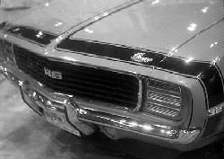 1969 Camaro*(RPO DX1) Accent Stripe Stencil Kit (header panel & hood) - Classic Muscle (1051014-A)