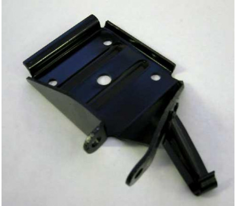 1967 Mono Leaf Anchor Plate - LH - Classic Muscle (3901315)