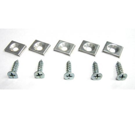 1957 Hood to Cowl Seal Clips & Screws - Classic Muscle (1102-S)