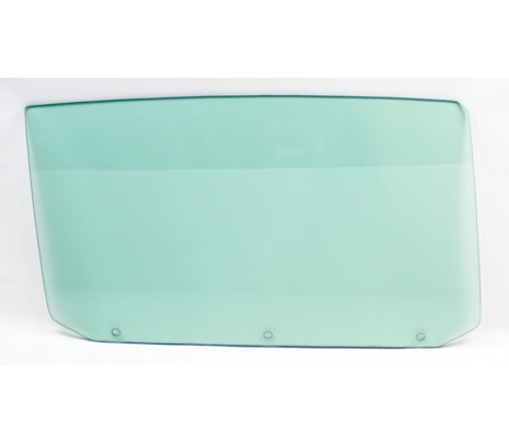 1964-65 Chevelle Conv. RH Green Tint Door Glass - Classic Muscle (GLASS103)