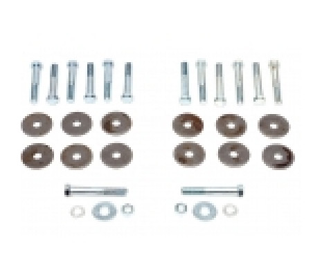 1970-1972 Chevelle Convertible Correcting Body Mount Bolt Kit - Classic Muscle (270677)