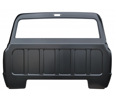 1967-72 C10 Full Cab Back Panel, with cargo lamp hole (TRUCK FREIGHT) - Classic Muscle (0849-119)