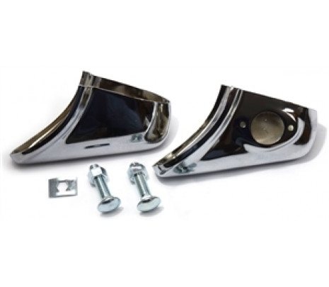 1956 Chevy Rear Bumper Guards (pair) - Classic Muscle (1356GR)