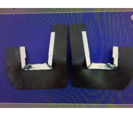 1957 Chevy Taillight Dust Shields with retainers. - Classic Muscle (MH135)