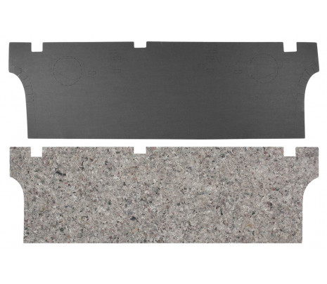 1973-77 Monte Carlo Trunk Divider Board & insulation (OVERSIZE ITEM) - Classic Muscle (MT125DX)