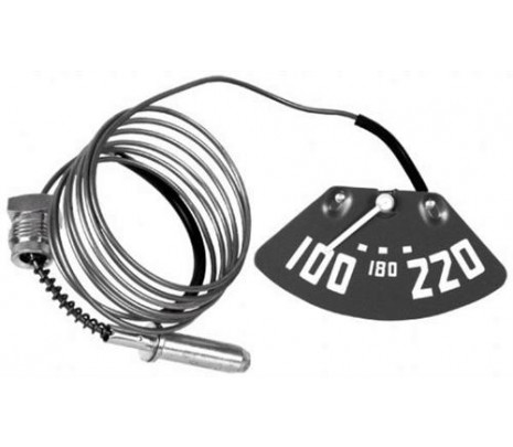 1949-1953 Temp. Gauge - V8 (white pointer) - Classic Muscle (1512701W8)