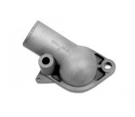 1967-1969 Thermostat Housing with Gasket - V8 (exc. 67-68 302) (correct - aluminum) - Classic Muscle (3877660)
