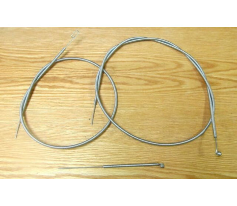 1955-1959 Chevy Truck Heater Cable Set, DLX (3 pieces) - Classic Muscle (30936)