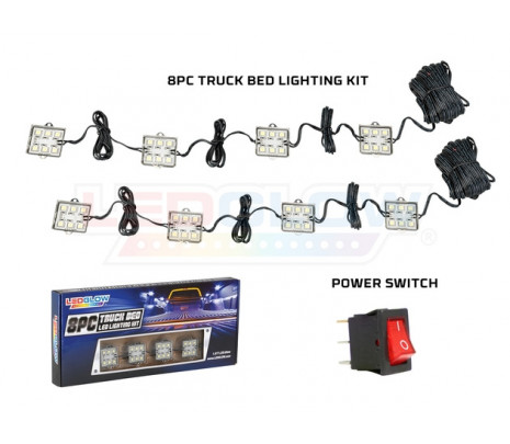 8PC Truck Bed LED Light Kit - Classic Muscle (RP6031)