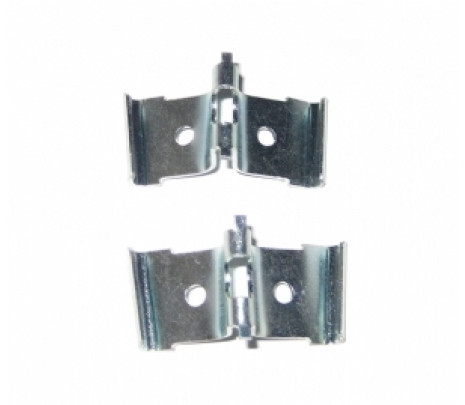 1957 Bel Aire Corner Fin Moulding Retaining Clips (2 pcs) - Classic Muscle (13574C)