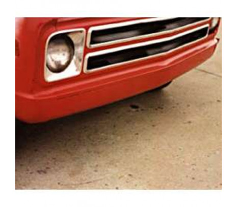1967-1972 C10 Front Roll Pan 18 Gauge Steel (must trim 2 inch off frame rails) OVERSIZE ITEM - Classic Muscle (100864)