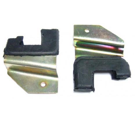 1955-1957 2 Door Lower Window Stops (exc. Convertible) - Classic Muscle (4626151)