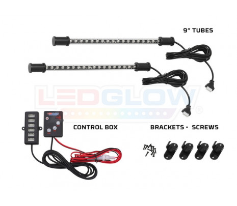 2PC 7 Color LED Interior Light Kit - Classic Muscle (RP6000)