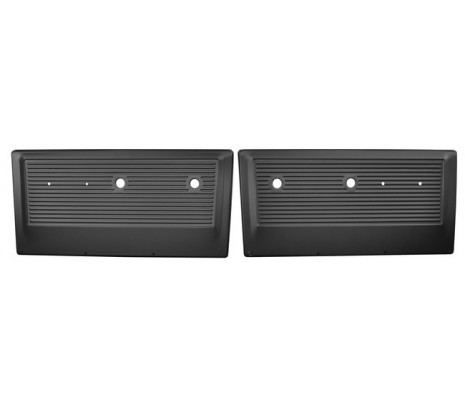 1967-1971 Chevrolet Pickup Truck 2 piece painted steel inner door panel set - Classic Muscle (38885356)