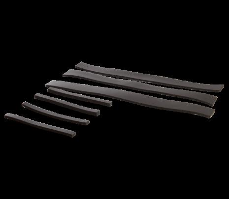 1960-66 C10 Hood Brace Pad Set (7 pcs) - Classic Muscle (848716)